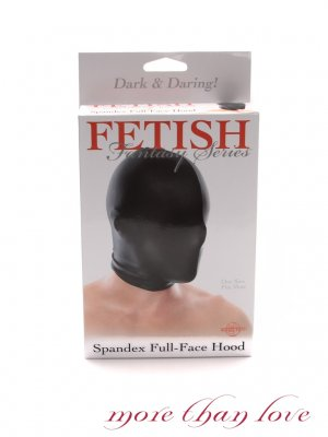 Fetish Fantasy - Spandex Full-Face Hood