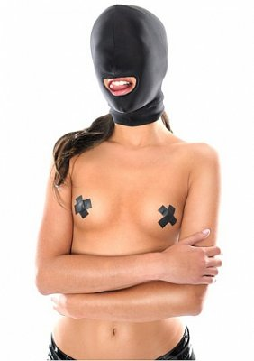 Fetish Fantasy - Spandex Open-Mouth Hood