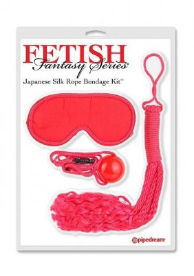Fetish Fantasy - Japanese Silk Rope Bondage Kit